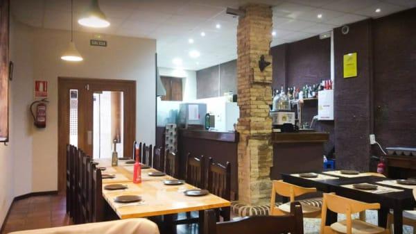 Vista sala - L'Amagatall Gastro Bar, Valencia