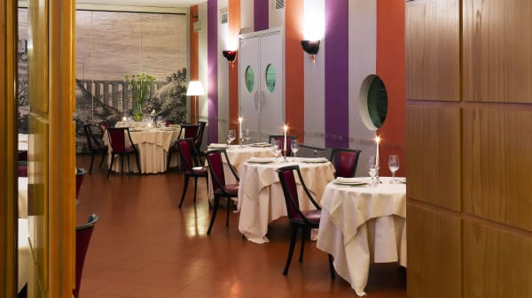Sala - La Veranda dell'Hotel dei Duchi, Spoleto