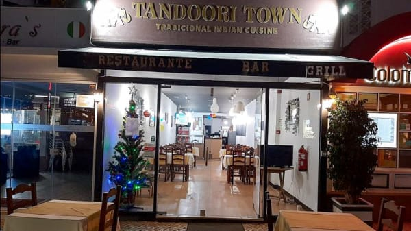Entrada - Tandoori Town, Quarteira