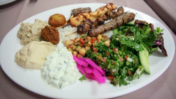 Assiette mixte - O Beyrouth, Paris