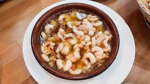 Sugerencia del chef - As de Gambas de Gerión, Sevilla