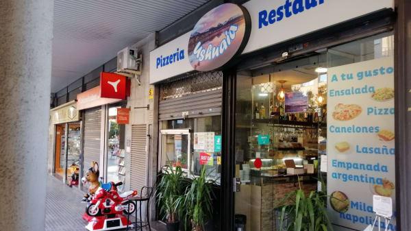 Entrada - pizzeria Ushuaia, Terrassa