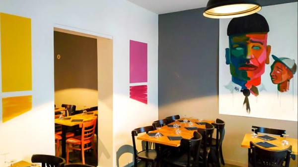 Vue de l'intérieur - La Bicoq', Montreuil