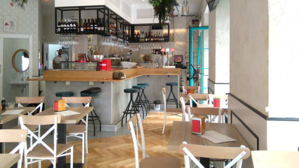 Sala del restaurante - Primadonna, Madrid