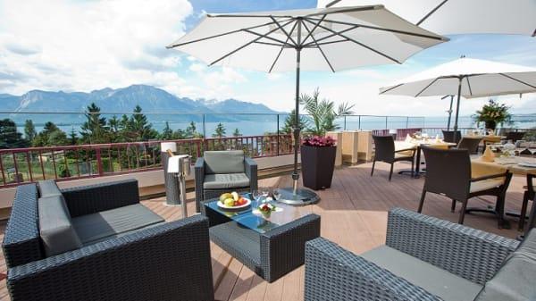 extérieur - Restaurant le Pavois, Montreux