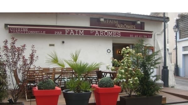 Entrée du restaurant - Par Faim d'Arômes, Fontenay-aux-Roses