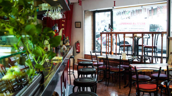 Vista sala - Ikki Bar, Barcelona