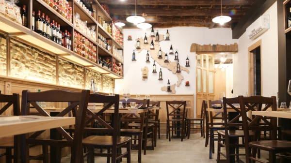 Sala del ristorante - Wiki Wiki Eat, Rome