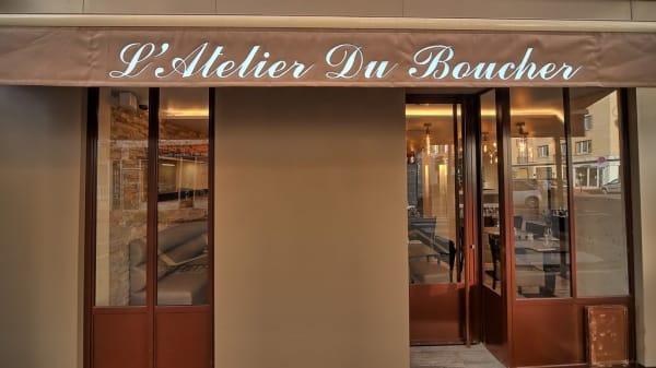 Façade - L'Atelier du Boucher, Saint-Maur-des-Fossés