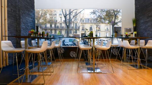 salle vitree - Coté Sushi, Paris