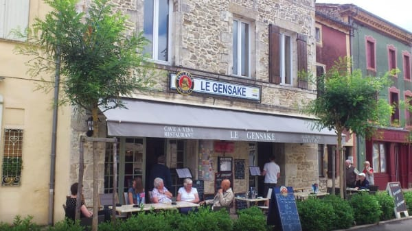 Restaurant - Le Gensake, Gensac