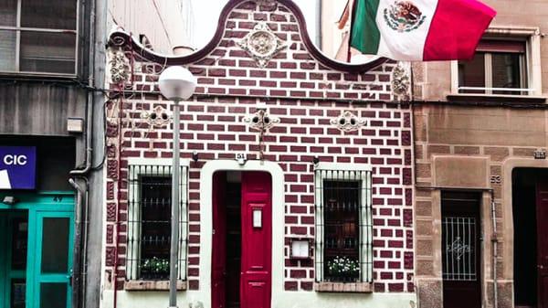 Fachada - Cantina Mexicana, Barcelona