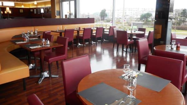 Salle du restaurant - Buffet de La gare, Calais