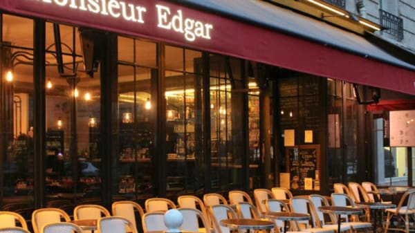 Terrasse - Monsieur Edgar Paris, Paris