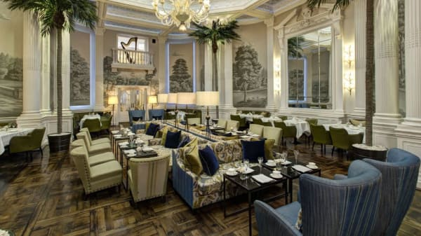 Palm Court at The Balmoral, Edinburgh
