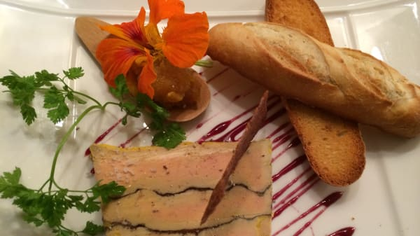 Foie gras au chocolat - La Feuillantine, Saint-Germain-en-Laye