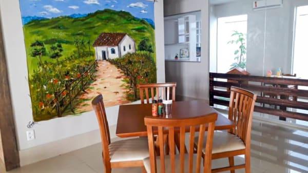 Vista sala - O Rancho, Goiânia