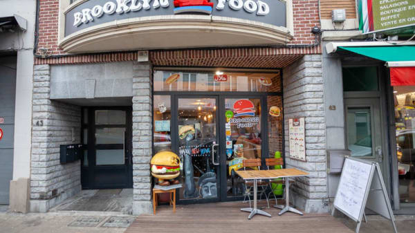 Entrée - Brooklyn Food, Ville de Bruxelles