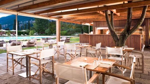 Terrazza e giardino - Kincho, Como