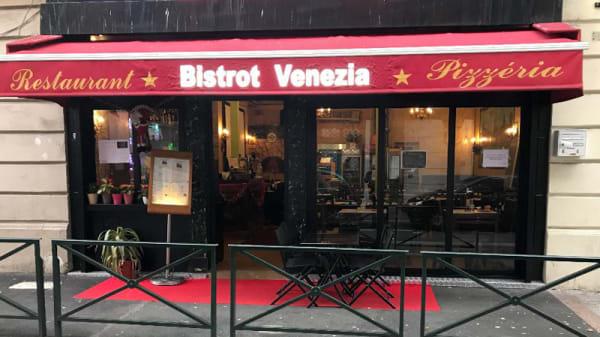 Entrée du restaurant - Bistrot Venezia, Puteaux