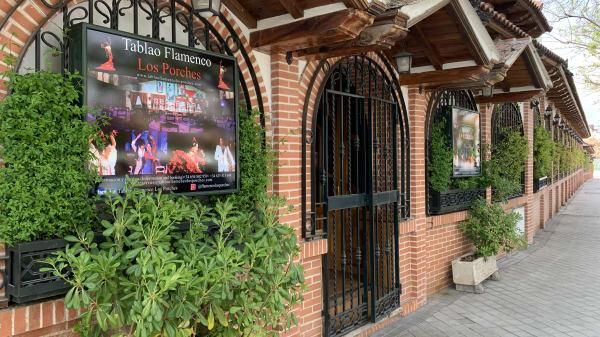 Tablao Flamenco Los Porches. Restaurante-Espectáculo, Madrid