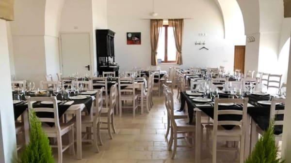 Veduta dell interno - Masseria Donna Teresa, Mottola