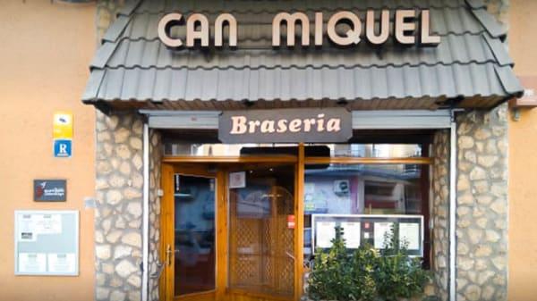 Entrada - Can Miquel, Lleida