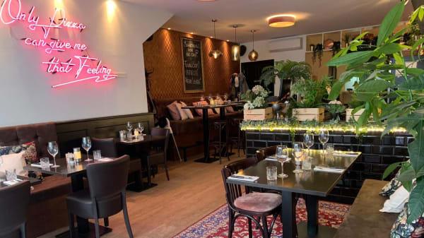 Het restaurant - Mammamia Den Haag, Den Haag