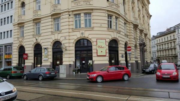Fassade - Huber's Essen & Trinken, Wien