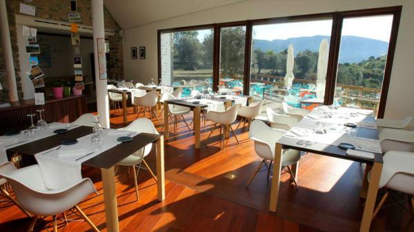 Vistas del interior - Restaurante Hotel Casa Fumanal, Abizanda