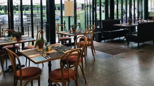 Café Restaurant du Parc des Bastions, Genève