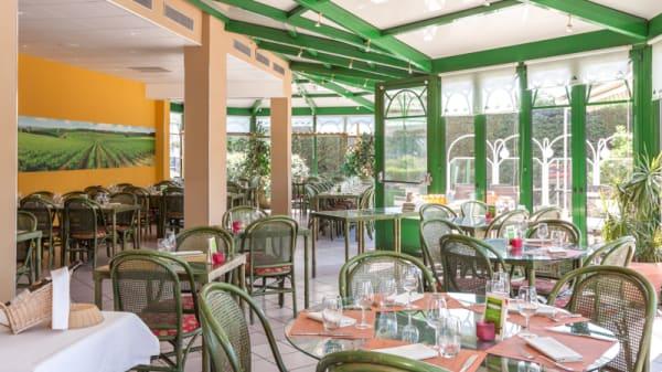 Salle du restaurant - La Véranda, Chenôve