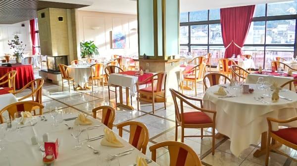 Salle du restaurant - Le Panoramic, Saint-Claude