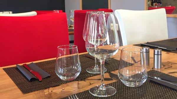 Table dressée - A la Table de Ced, Louannec