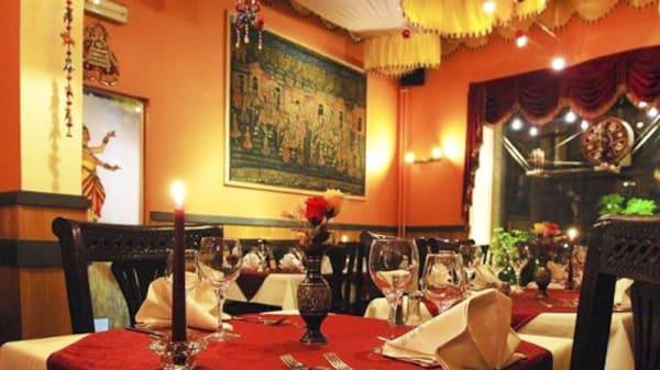 Vue salle - Au Bombay, Namur