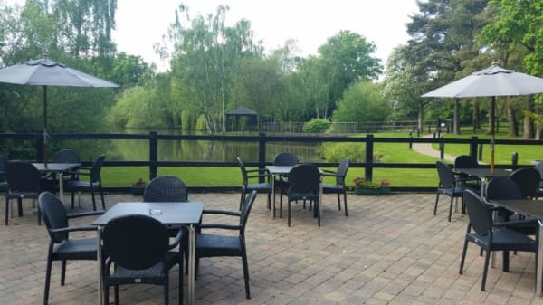 Lakeside Restaurant at Great Hallingbury Manor, Bishop's Stortford