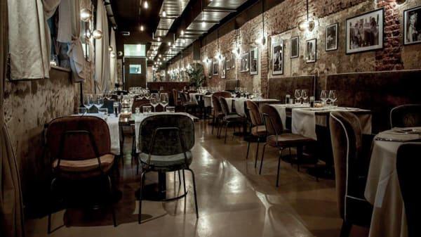 Sala del ristorante - Belle Donne Bistrot, Milan