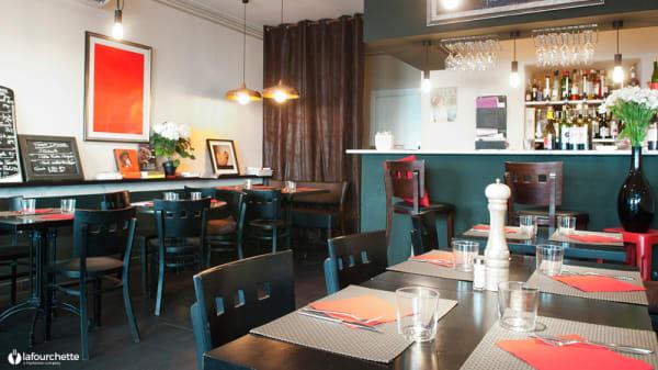Aperçu de l'intérieur - Café Léa, Nice
