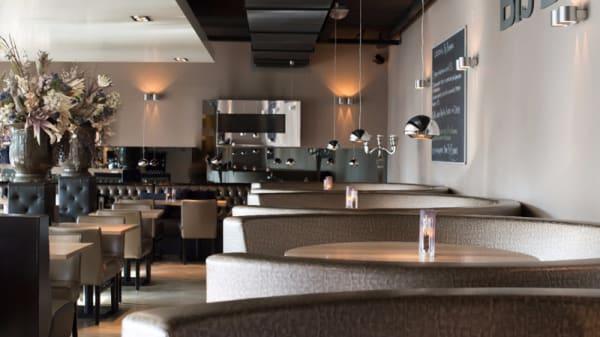 Interieur eetzaal - Bij Bomans, Heemstede