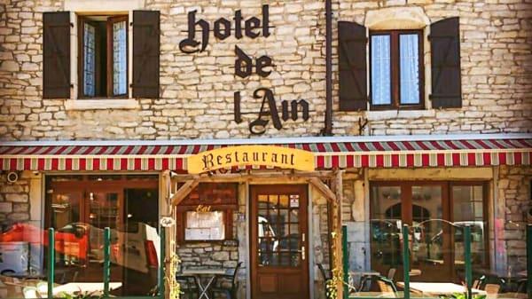 Restaurant - Hotel restaurant de l'ain, Pont-de-Poitte