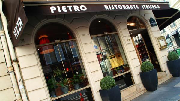 Bienvenue au restaurant Pietro - Pietro, Paris