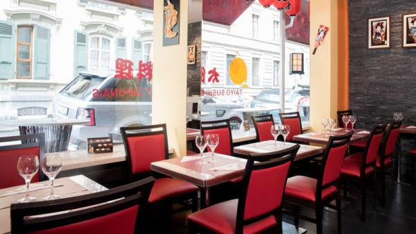 Vue des tables - Taiyo since 2003, Lausanne