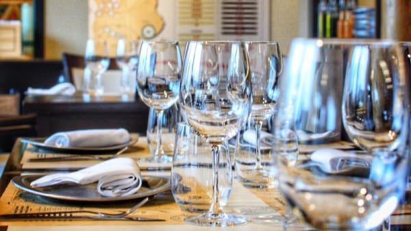 Vista de la sala - La Vineria Grill, El Chalten