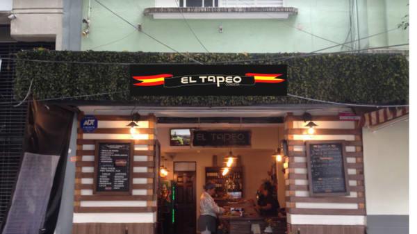 Fachada - El Tapeo Condesa, Ciudad de México