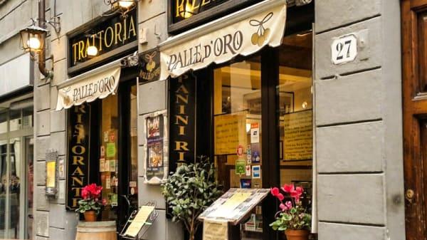 La entrata - Palle d'Oro, Firenze