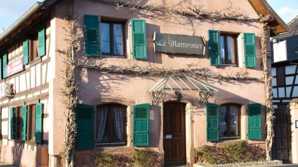 restaurant - Le Marronnier, Stutzheim-Offenheim
