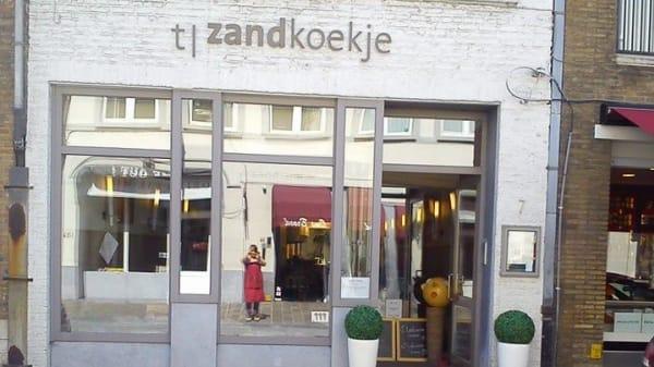 façade - 't Zandkoekje, Bruges