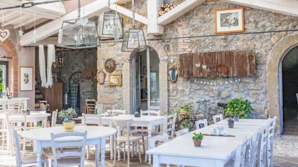 Sala ristorante - L'orto di Hans, Soriano Nel Cimino