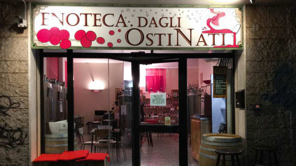 esterno - Enoteca dagli OstiNati, Bologna