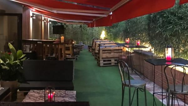 Terraza - Samsa Club, Pozuelo de Alarcón